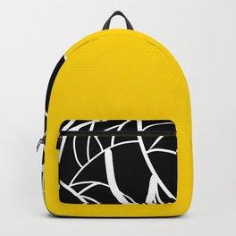 Yellow Zebra Backpack