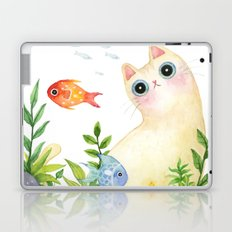 The Aquarium Cat Laptop & iPad Skin