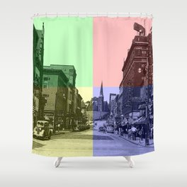 Baltimore St., Cumberland, Md. Shower Curtain