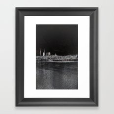 east side Framed Art Print
