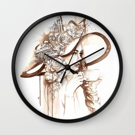 Bell'Italia - Miss Rome Wall Clock