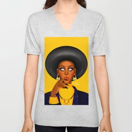 Yello Unisex V-Neck