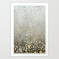 camouflage Art Prints featuring Camouflage by dominiquelandau