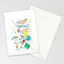NOLA Jazz Fest 2011 Stationery Cards