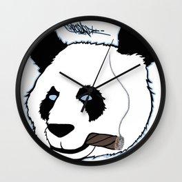King Panda Wall Clock
