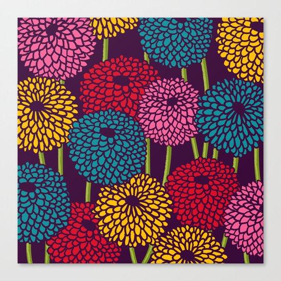 Full of Chrysanth Canvas Print