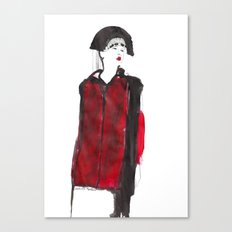 fashion illustration – Belle Sauvage A/W 2013 Canvas Print