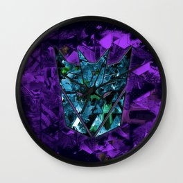 Decepticons Abstractness - Transformers Wall Clock