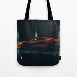 American Sports Car / Supercar (Mid-Engined) Tote Bag