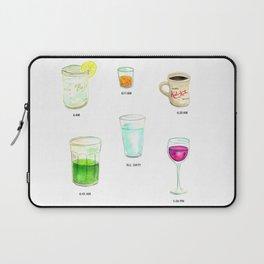 Daily Liquid Consumption Laptop Sleeve