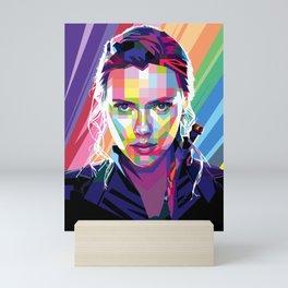Scarlett Johansson Mini Art Print
