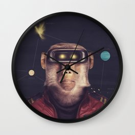 Star Team - Andrew Wall Clock