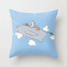 The Dumbojet Throw Pillow