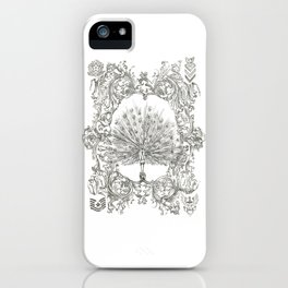 Military Peacock iPhone Case