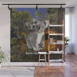 Save the Koalas Wall Mural