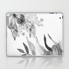Vintage tropical flowers Laptop & iPad Skin
