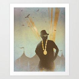 Festival King... Art Print