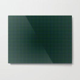Lamont Tartan Metal Print