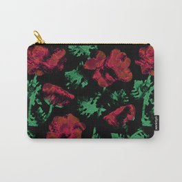 Abstract pattern . Red poppies. Carry-All Pouch