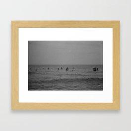 French Ocean Framed Art Print