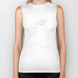 Submissive woman Biker Tank