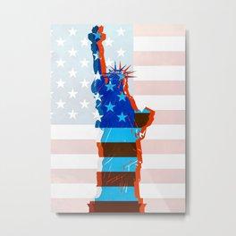 statue of liberty / USA Metal Print