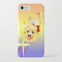 sailor venus iPhone & iPod Cases featuring Sailor Venus by artwaste