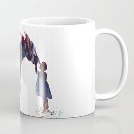 donkey and child art Coffee Mug