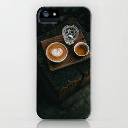 Cafe Latte Art II iPhone Case