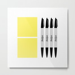UX Design Toolkit Metal Print