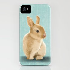 Portrait of a little bunny Slim Case iPhone (4, 4s)