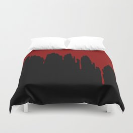 Dripping Blood Duvet Cover