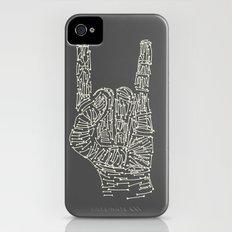 Horns Hand iPhone (4, 4s) Slim Case