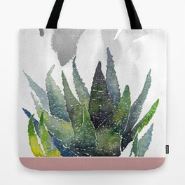 Succulent by the window Tote Bag