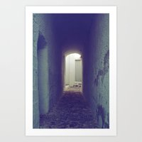 Light at the end of the tunnel II Art Print