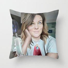 Cymom Throw Pillow