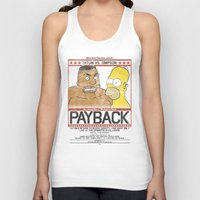 simpson Tank Tops featuring Tatum vs Simpson: Payback by htsvll