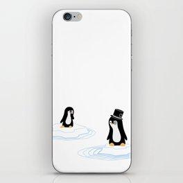 Penguins on Ice iPhone Skin