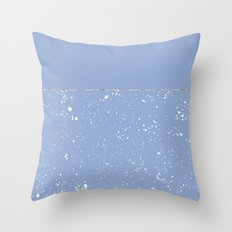 XVI - Blue 1 Throw Pillow
