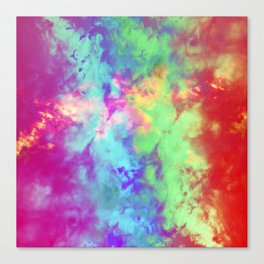 Painted Clouds Vapors II Canvas Print