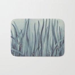 Green-Blue Grass Bath Mat