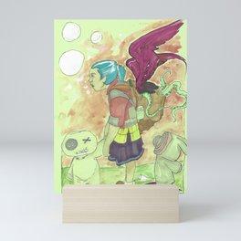Homework/Magic Sucks Mini Art Print