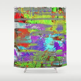 Colour Injection II Shower Curtain