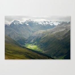 Davos, Switzerland Canvas Print