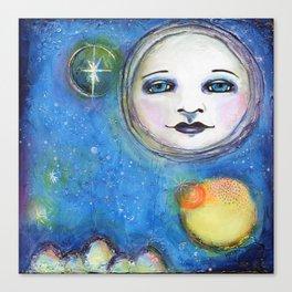 I'm a Dreamer art by Kae Pea Canvas Print