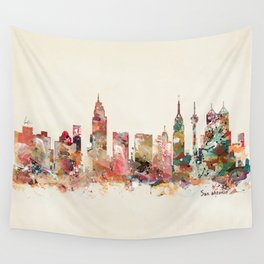 san antonio texas Wall Tapestry