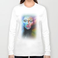 psychedelic Long Sleeve T-shirts featuring Psychedelic  by Halinka H