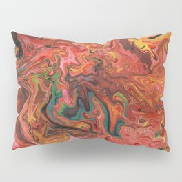 Abstract Oil Painting 3 Pillow Sham