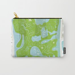 Totally Inaccurate Map of Gifford Pinchot State Park Carry-All Pouch