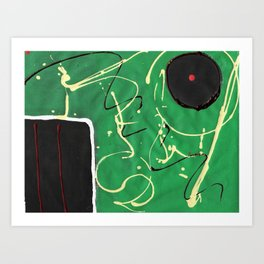 Sports Made and Major Art Print